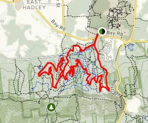 Earl's Trails and Glenna Bell Trail Map
