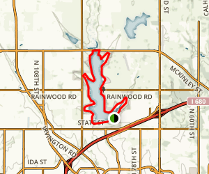 Glen Cunningham Lake Trail Map