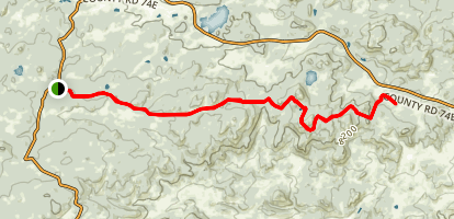 Granite Ridge Trail Map