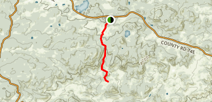 Lady Moon Trail Map