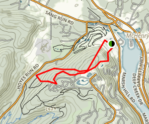 Wisp Ski Resort Trail Map