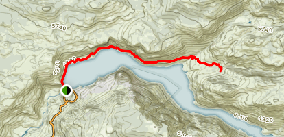 Hetch Hetchy Trail to Rancherio Falls Map