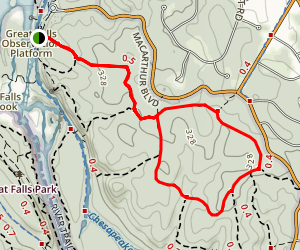 Gold Mine Loop Trail Map