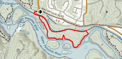 Billy Goat Trail Section B Map