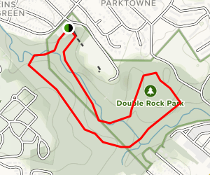 Double Rock Park Trail Map