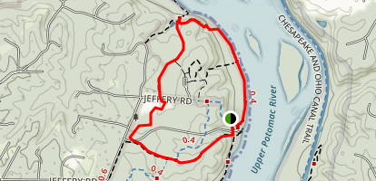 Riverbend Park Loop Map