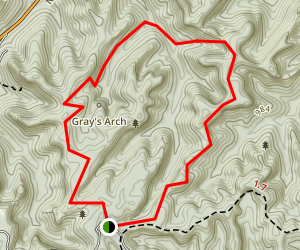 Rush Ridge Trail Map