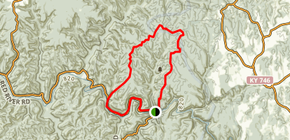 Osborne Bend Trail Map