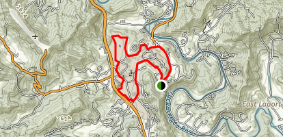 Moses Creek Trail Map