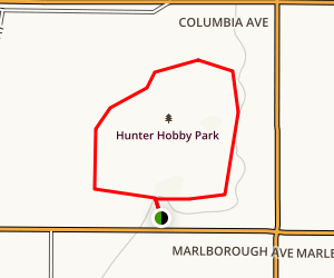 Hunter Hobby Park Trail Map