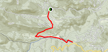 Watershed North Trail Map