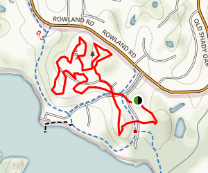 Bryant Lake Figure Eight Trail Map
