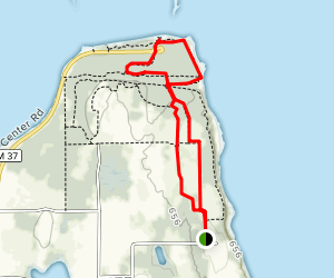 Old Mission State Park Trail Map