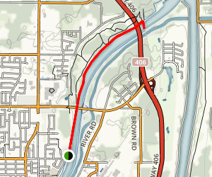 Welland Canals Trail Map