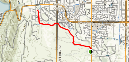 Fossil Creek Trail Map