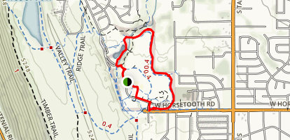 Spring Creek Park Trail Map