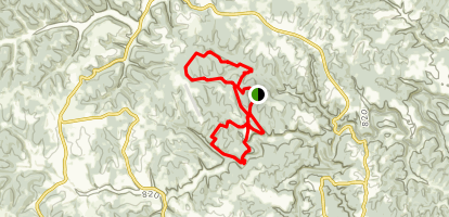 Carter Caves State Park Campground Trail Map