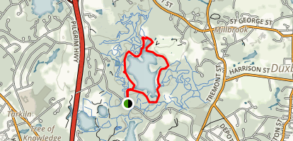 North Hill Marsh Trail Map