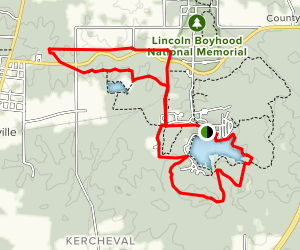 Lincoln Park Loop Trail Map