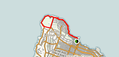 Monterey Peninsula Recreational Trail Map