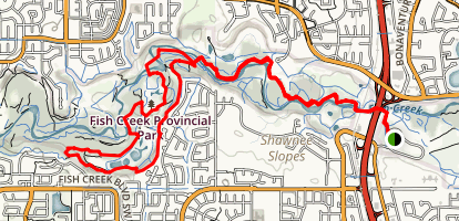 Fish Creek Votier Flats Trail Map