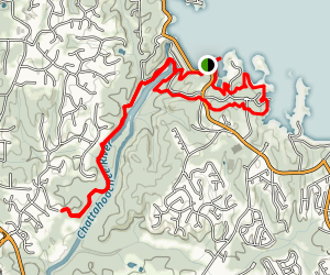 Buford Dam and Laurel Ridge Trails Map