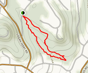 Townsend Park Loop Trail Map