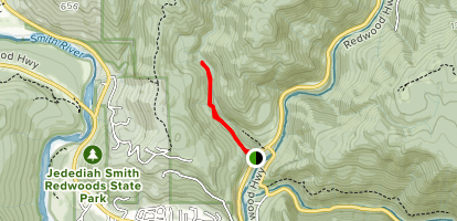 Myrtle Creek Trail Map