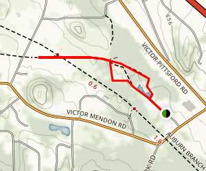 Lehigh Crossing Trolley Trail Loop Map