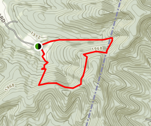 Southeast Hollow Trail Map