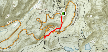 Narada Falls Trail Map