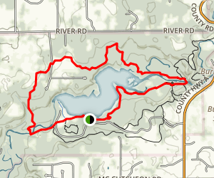 Willow Falls and Nelson Farm Trail Loop Map
