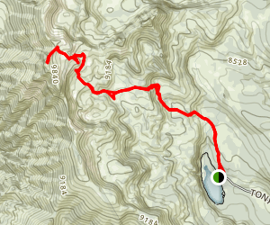Naomi Peak Trail Map