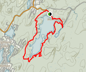 Wawayanda Lake Trail Map