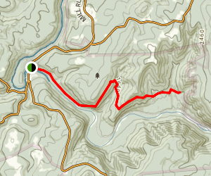 Laurel Highlands Hiking Trail: Ohiopyle to Bidwell Map