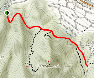 Paul Intemann Nature Trail Map
