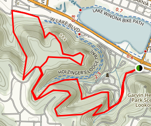 Winona Trail Map