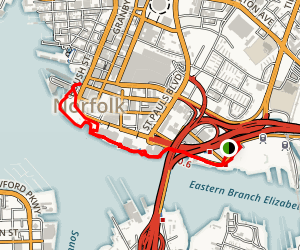 Norfolk Waterside Trail Map