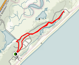 Huntington Beach State Park Trail Map