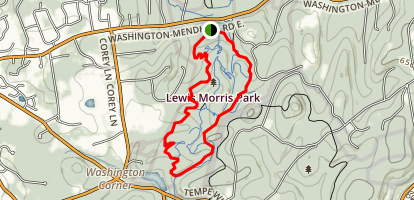 Lewis Morris Yellow Trail Map