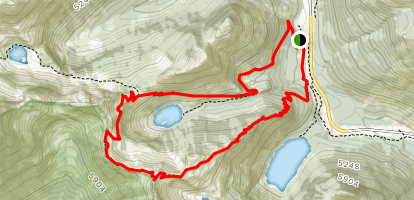 Maple Pass Trail Map