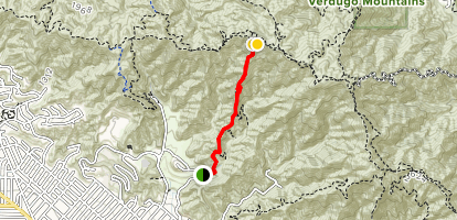 Vital Link Trail Map