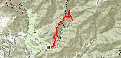 Wildwood Canyon Trail [CLOSED] Map