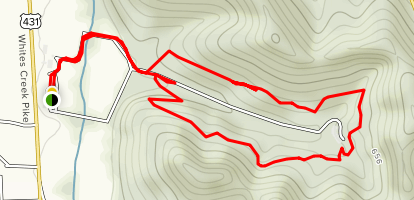 The Trails at Fontanel Map