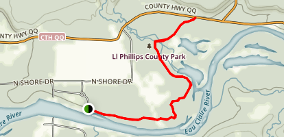 County Land Trail Map