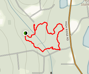 Bartlett Arboretum Trail Map