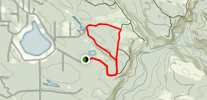 Moss Lake Trail Map