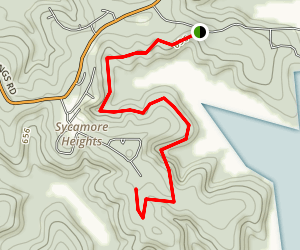 Norfork Lake Trail to Devil's Backbone Map