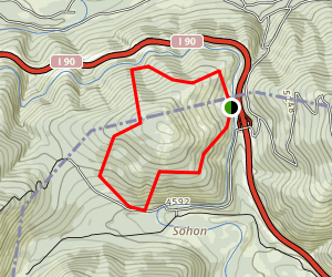 Lookout Pass Ski and Recreation Area Trails Map