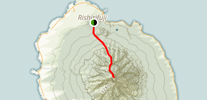 Mount Rishiri Trail Map